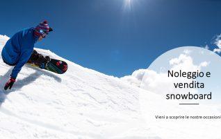 Noleggio e vendita snowboard